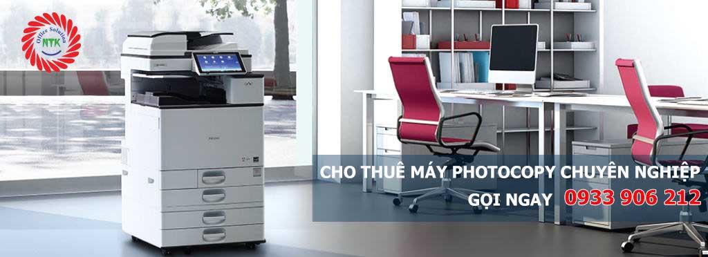 Cho thuê máy photocopy tại Nam Trường Khang
